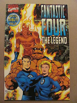 Fantastic Four The Legend  #1 Special Tribute Marvel 1996 One Shot 9.4 Near Mint