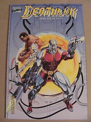 Deathlok #1 #2 #3 #4 Marvel Comics 1990 Limited Series 9.2 Near Mint- SHIELD