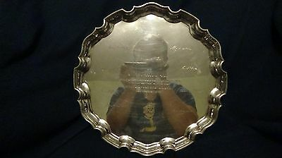 Tiffany & Co Sterling Silver Knight Ridder Plate given to Jesse Hill, Jr.