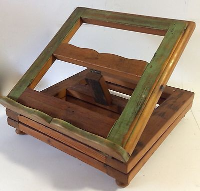 Wooden Rotating Music/Receipt Book Stand