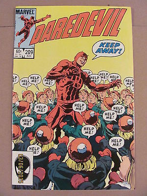 Daredevil #209 Marvel Comics NETFLIX