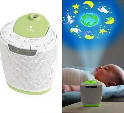 myBaby Soundspa Lullaby Sound Machine & Projector Baby Sleep 6 Sounds / 3 Images
