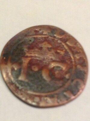 Spain-Unknown origin small medieval coin with Cross -front- See scans! NW12