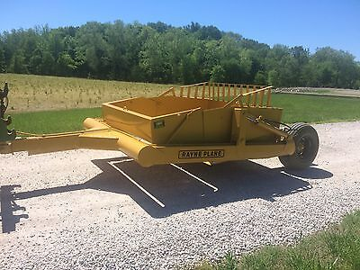 Rayne Plane 450 5 yard dirt scoop, scraper, pan, bucket, Reynolds