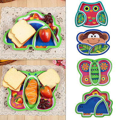 Baby Kids Table Food Tray Placemat Plate Bowl Dish Sozzy Feeding Dish Tableware