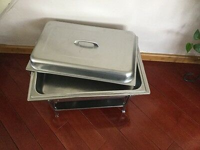 Stainless Steel Chafing Dish Warming Dish Buffet  Dinner Pan 8 quarts