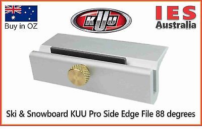 Ski & Snowboard KUU Pro Edging tool, 88 degrees all metal.