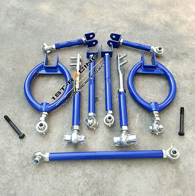 Adjustable Suspension Traction tie Camber Arm Kit For Nissan 200sx s13 SR20DET
