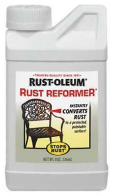 8 OZ Rust Reformer Chemically Converts Rust To A Protective Only One