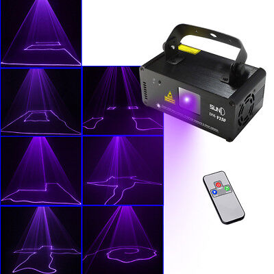 SUNY Laser Stage Light Lighting Projector DJ Disco Xmas Party home Club DMX512
