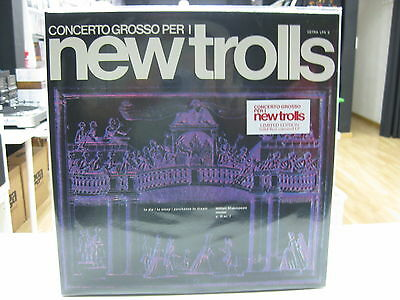 New Trolls Lp Europe Concerto Grosso For I 2017 Gatefold Red Limited