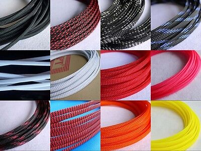Mix Color 6mm Encryption Braided Cable Sleeving/Sheathing/Auto Wire Harnessing