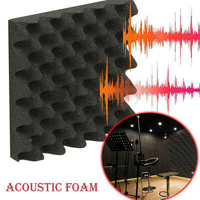 Acoustic Soundproof Sound Thick Absorption Pyramid Studio Foam Board Noise Proof