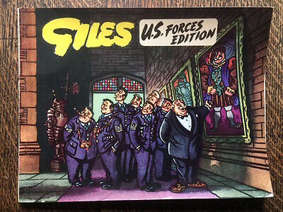 Giles U.S Forces Edition Cartoon Annual 1954 Daily Express War Interest