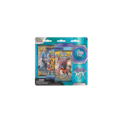 POKEMON SUN & MOON * Collector's Pin 3-Pack Blister: Suicune