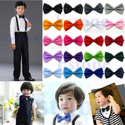 Novelty Boy Kid Children Toddler Bowtie Pre-Tied Wedding Party Bow Tie Necktie