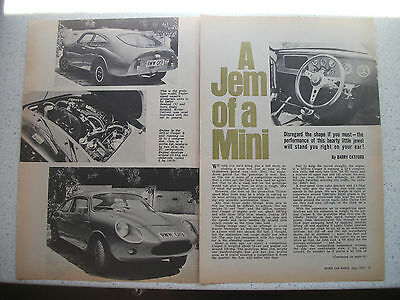 Taylor-Speed Mini Jem 3 Page Preview And Drive Article