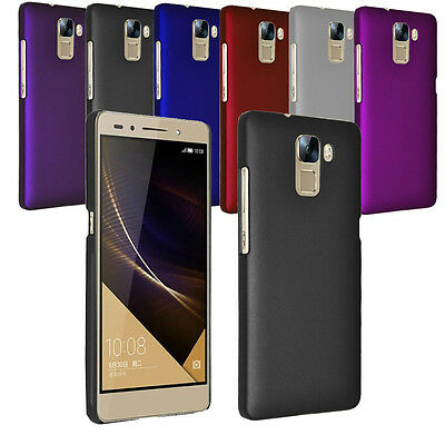 For Huawei Honor 7 Slim Thin Hybrid Hard Case Clip On Cover & Screen Film
