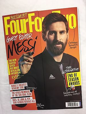Four Four Two 442 Football Mag Issue 277 JULY 2017 LIONEL MESSI SEASON AWARDS