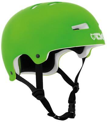 TSG Helm Evolution satin lime green