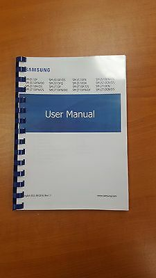 Samsung Galaxy J5 J510F (2016) Printed Instruction Manualuser Guide 109 Pages A5