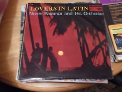 LP/ NORRIE PARAMOUR ORCHESTRA /LOVERS IN LATIN (1959 / 1960s UK EMI MFP MONO