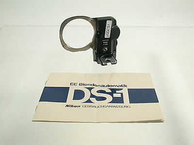 NIKON DS-1 Blend nmotor aperture motor F2 top + instructions /17