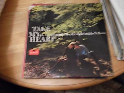 Lp/ Bert Kaempfert / Take My Heart (1965 Uk Polydor Stereo