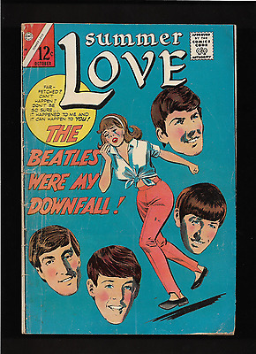 "1965 Summer Love #46 Comic Book  "" The Beatles Issue ""  Very Scarce & Rare"