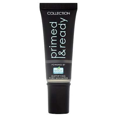 COLLECTION 2000 Primed & Ready Mattifying Pore Minimiser Primer Flawless Base!