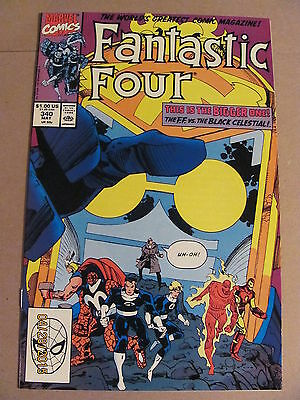 Fantastic Four #340 Marvel Comics 1961 Series 9.2 Near Mint-