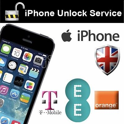 UK ORANGE / EE / T-MOBILE IPHONE 7/7Plus FACTORY UNLOCK FAST SERVICE 48-72 Hours