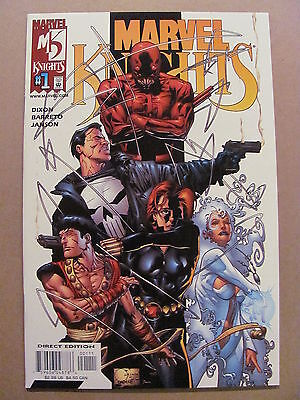 Marvel Knights #1 Marvel Comics 2000 Series Punisher Daredevil 9.6 Near Mint+