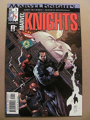 Marvel Knights #1 Marvel Comics 2002 Series Punisher Daredevil 9.6 Near Mint+