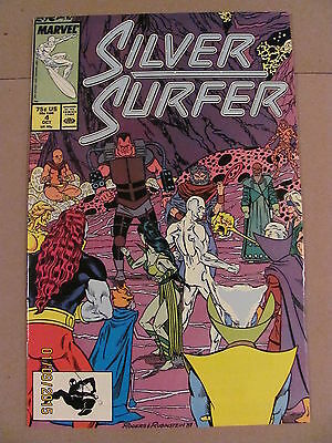 Silver Surfer #4 #5 #6 #7 #8 Marvel Comics 1987 Series