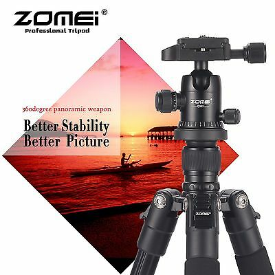 ZOMEI Q555 Light-Weight Professional Aluminum Tripod Ball Head For DSLR Camera