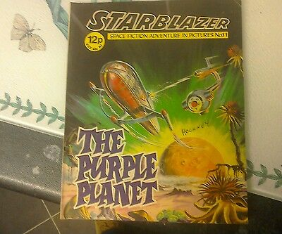 starblazer no11 from 1979- the purple planet.
