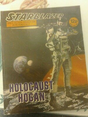 starblazer no7 from 1979- holocaust hogan.