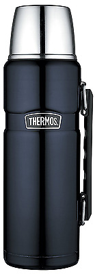 *BEST Thermos Stainless King Flask, HOT/COLD For 24hrs Flasks & Cup 1.2L - Blue