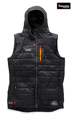 Scruffs EXPEDITION THERMO Bodywarmer Gilet Black (All Sizes) Mens Work Jacket