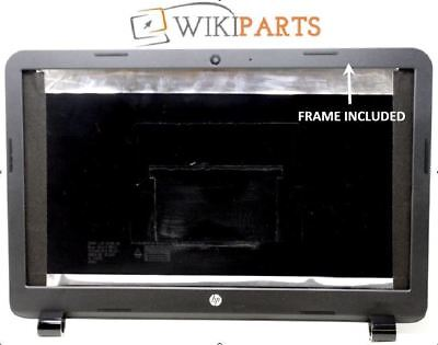 """HP-Compaq 15-R101NA 15.6"""" LCD SCREEN TOP LID BLACK BACK COVER WITH FRAME"""