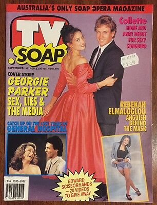 Tv Soap September 1991 Collectable Soap Opera