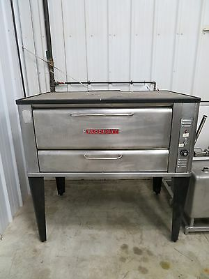 Blodgett - 951 Single - 60 x 40 Gas Deck Oven - STAINLESS STEEL - FAST SHIPPING
