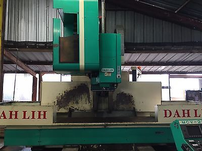 Cnc Mill Dah Lih Vertical Machining Center Mvc-2100