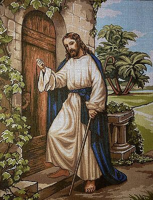 "Gobelin Tapestry Needlepoint Kit ""Christ""  printed canvas 105"