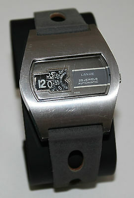 Lange 25 Jewels Automatic Herren Armbanduhr / Swiss Made