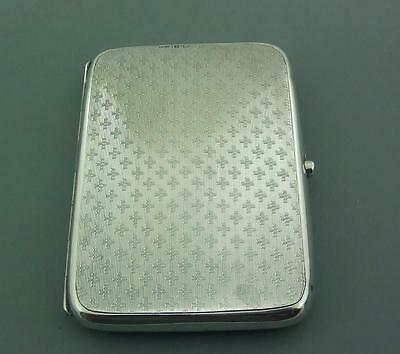 Antique Solid Silver Card Case, Aide Memoire, Stamp Holder Deakin & Francis