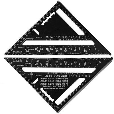 Metric System Ruler Speed Square Rafter Triangle Angle Square Protractor Miter