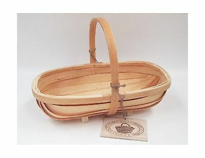 Traditional Wooden Sussex Trug by Fallen Fruits 42cm x 23cm