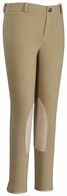 TuffRider Childrens Starter LowRise Equestrian Horseback Riding Pull On Breeches